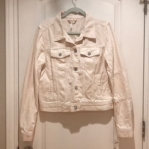 NWT Free People Ivory Jean Jacket